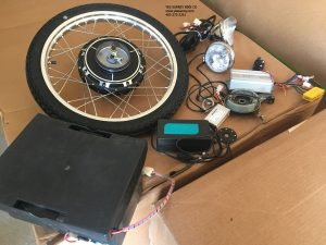 Pedal Assist and Electric Wheel and Kit