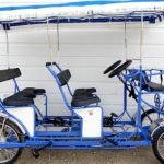 Surrey Bikes double bench 4 Wheel Pedal Quadricycle