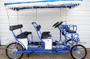 Double Bench Surrey Bike