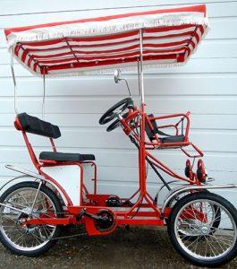 Single Bench Surrey Bike
