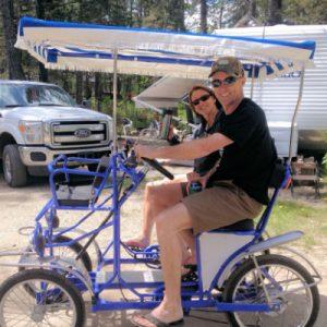 Camping Surrey Bike in Canada