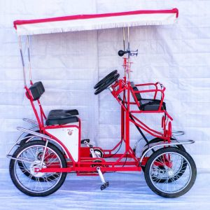 Surrey Bikes single bench 4 Wheel Pedal Quadricycle