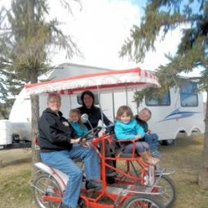 Surrey rentals while camping